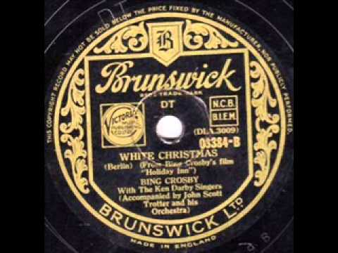 Bing Crosby - White Christmas -Original 1942 recording.wmv - YouTube