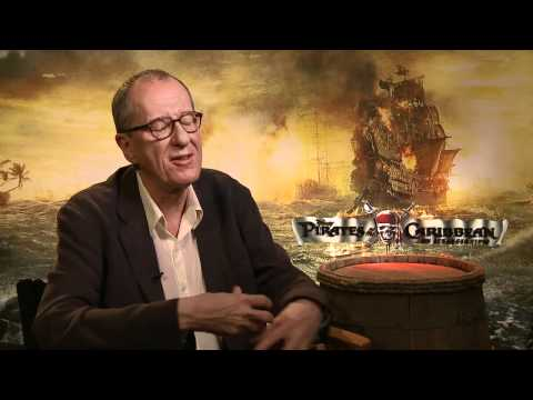 'Pirates...On Stranger Tides'  with Geoffrey Rush