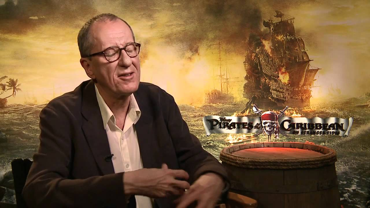 'Pirates...On Stranger Tides' Interview with Geoffrey Rush - YouTube