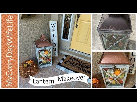 DIY Porch Lantern Makeover    Fall DIY & Decor Challenge 2019