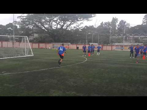 Entrenamiento Velocidad futbol.