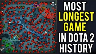 THE LONGEST PRO GAME IN DOTA 2 HISTORY
