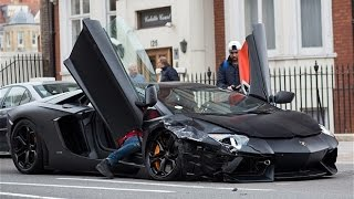 Supercar Crash Compilation | HD | 2015