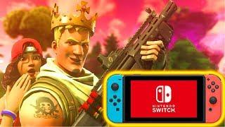 Fortnite: Meine ERSTE Runde auf der Nintendo Switch!