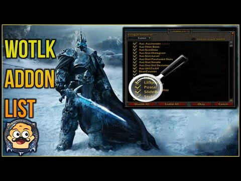 Lets Play WoW - Wrath Of The Lich King Special Episode: Addon List