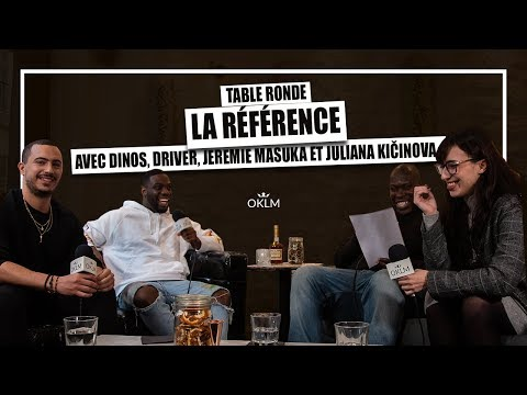 Youtube: DINOS, JEREMIE MASUKA, JULIANA KIČINOVA & DRIVER – Table Ronde«RÉFÉRENCE»