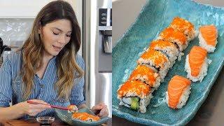 🍣 Evde Sushi Nasıl Yapılır? | 🍣 California Roll Sushi Tarifi | Canan Kurban