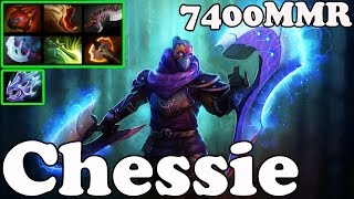 Dota 2 - Chessie 7400 MMR Plays Anti-Mage - Pub Match Gameplay