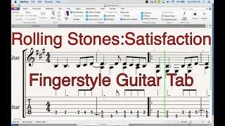 Video Rolling Stones: Satisfaction (Free Fingerstyle Tab) download MP3, 3GP, MP4, WEBM, AVI, FLV Mei 2018