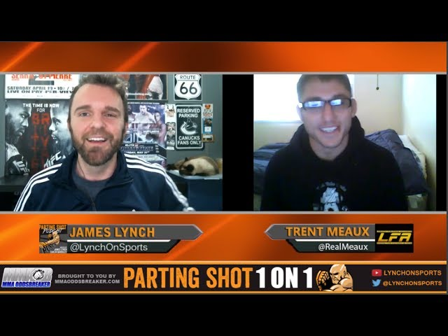 "LFA 13's Trent Meaux ""I'm looking for an early stoppage on Maikel Perez"""
