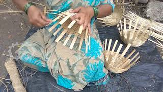 Super Skilled Workers - Making Bamboo Pot By Hand in 30 sec
