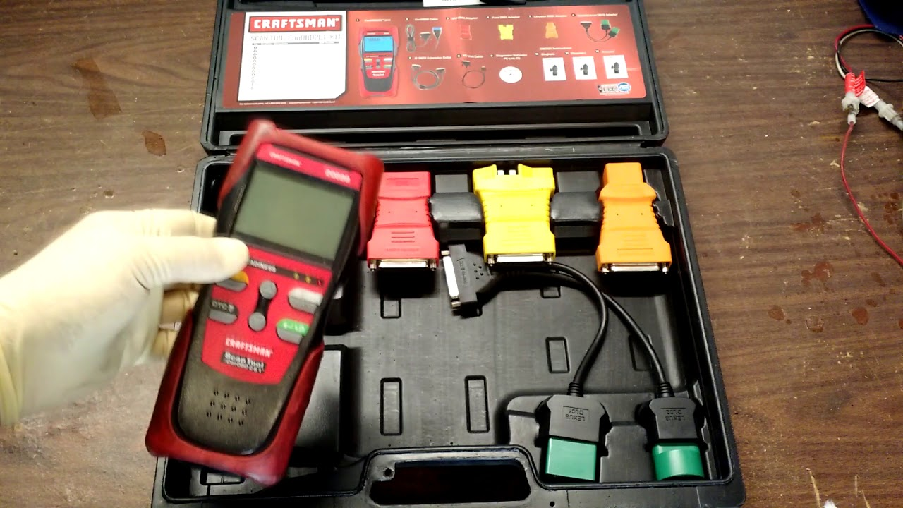 Craftsman 20899 Scan Tool Review. (Innova 3140)