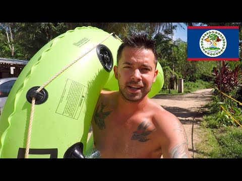 Altun Ha Belize Mayan Ruins And Waterfall Cave Tubing!