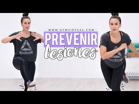 Aumentar el equilibrio y prevenir lesiones de tobillo