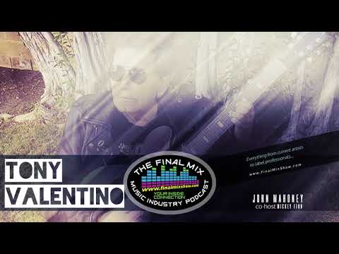"""Tony Valentino Interview on the """"The Final Mix"""" with John Mahoney & co-host Mickey Finn"""