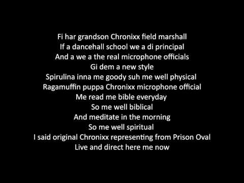 Chronixx - Spanish Town Rocking (Lyrics Videos)