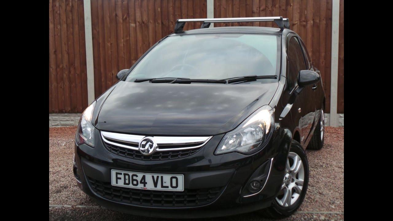 Fd64vlo Vauxhall Corsavan 1 3 Cdti 95ps Sportive Inc Roof Bars Youtube
