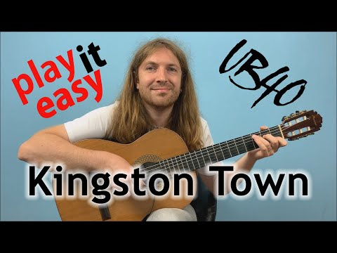 Kingston Town - UB40 Fingerstyle Guitar Cover