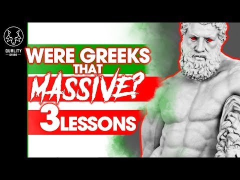 Were Greeks That MASSIVE? - 3 Lessons From Ancient Training