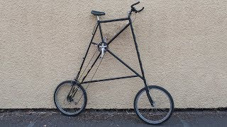 How to build your own tall bike