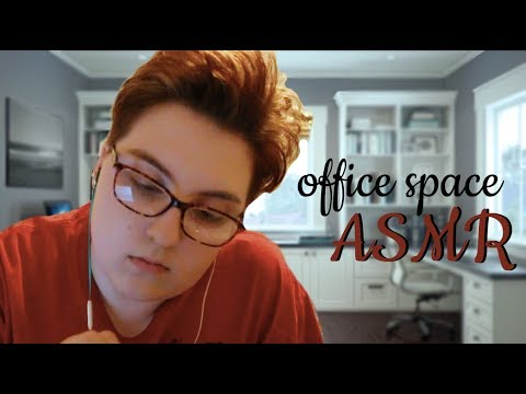 {ASMR} Office Supplies // My First ASMR // Tapping, Scratchi