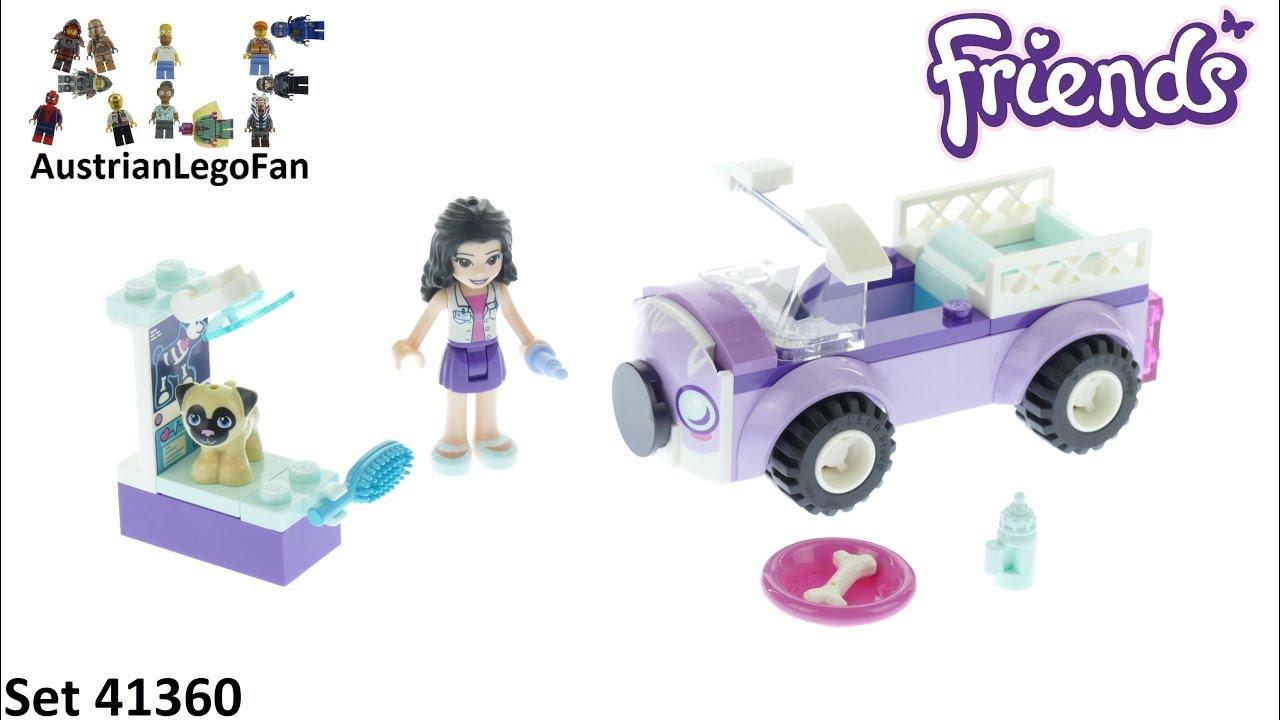 41360-New LEGO FRIENDS Emma/'s Mobile Vet Clinic Building Set