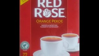A look at one of my most enjoyed hot beverage red rose tea. excelen...