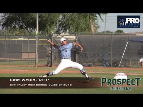 Eric Wenig, RHP, Simi Valley High School, Pitching Mechanics at 400 FPS