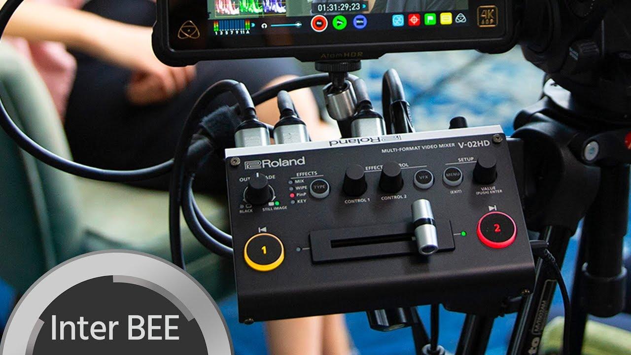 Roland V-02HD - World's Smallest Video Mixer | cinema5D