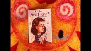 "Book  Review ""Who Was Anne Frank"""