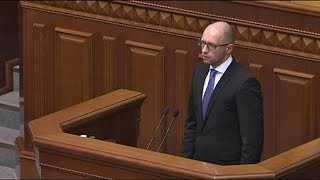 New political turmoil in Ukraine as the country