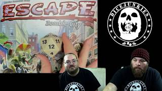 Review of Escape: Zombie City by Queen Games