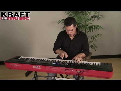 Kraft Music - Korg Kross Workstation Keyboard Performance with Rich Formidoni