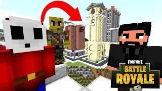 Minecraft   Nintendo Fun House   JOHN WICK TOOK US TO FORTNITE ISLAND!