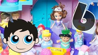 Episode 6: Disney Princess Songs: Cinderella, Snow White, Sophia the First, Rapunzel, Frozen!