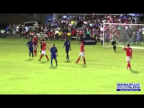 Bermuda Penalty Vs Greenland RUSSELL PENALTY ENG COMMENTARY HD
