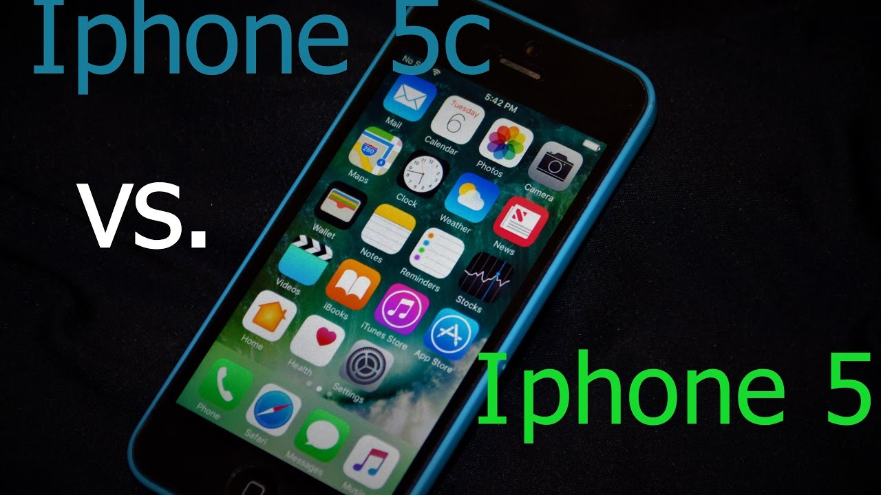 Iphone 5c vs Iphone 5 IOS 10 Review and Comparison