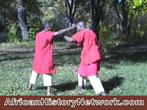 Basic Drills - The World Of African Martial Arts - Part 1: Ahati Kilindi Iyi