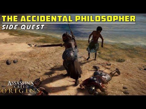The Accidental Philosopher   Alexandria   Investigate Coastline   Assassin's Creed: Origins