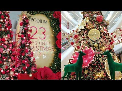 The Podium mall Christmas Decoration Parang nasa Singapore Lang ako Grabe