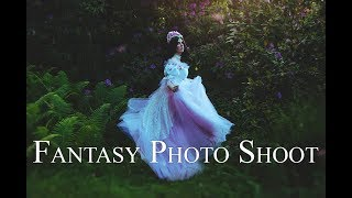 "Behind the scenes on ""The Naiad"" & ""The Sylph"" - Fantasy Photo Shoot"