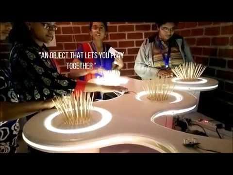 Blossoms  interactive art installation