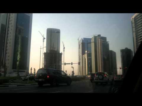 Skyscrapers in DOHA , QATAR ( west bay area )