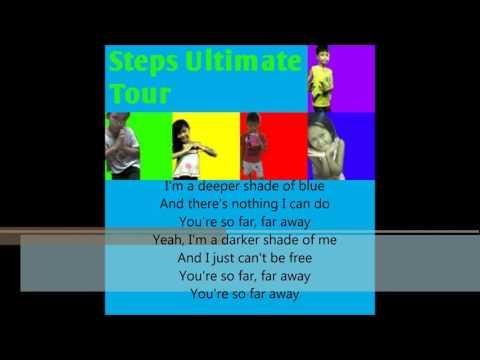Steps Deeper Shade Of Blue Lyrics
