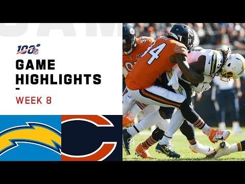 Chargers Vs. Bears Week 8 Highlights | NFL 2019