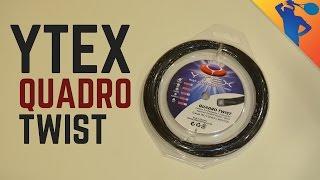Ytex Quadro Twist Tennis String Review!
