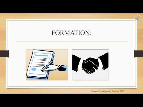 LEGL130 WEEK 2 Collaborative Business Organization Presentation