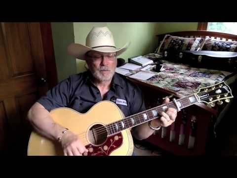 1861 -  Slow Hand  - Conway Twitty vocal & acoustic guitar cover & chords