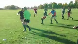 A bit of magic... Royal Arsenal Tag Rugby