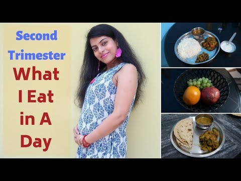 Pregnancy Special : What I Eat In A Day || Second Trimester || MakeUbeautiful